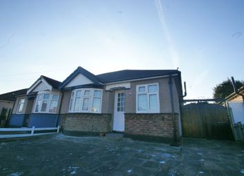 Thumbnail 2 bed semi-detached bungalow to rent in Chelmsford Drive, Upminster