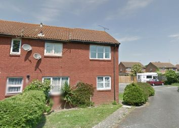 Thumbnail 1 bed end terrace house to rent in Templars Close, Flansham Park, Middleton-On-Sea