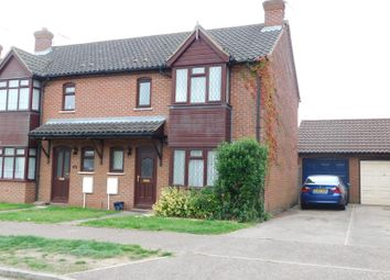 Thumbnail 3 bed semi-detached house to rent in Cameron Green, Taverham, Norwich