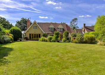 Thumbnail 4 bed detached house for sale in Borley Green, Bury St Edmunds, Suffolk