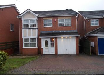 Thumbnail 4 bedroom detached house for sale in Shipton Close, Dudley