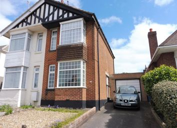 Thumbnail 2 bed semi-detached house for sale in Wimborne Road, Poole
