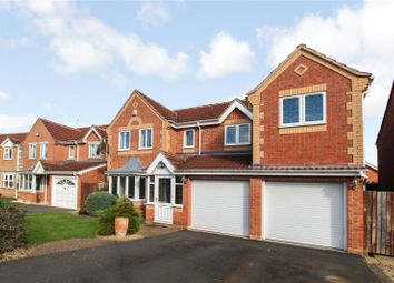 Thumbnail 4 bed detached house to rent in Juno Close, Glenfield, Leicester, Leicestershire