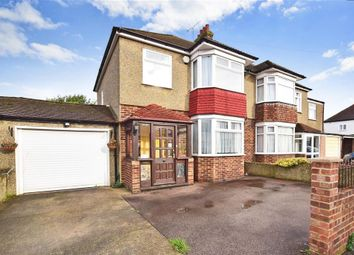 Thumbnail 3 bed semi-detached house for sale in Beresford Avenue, Rochester, Kent
