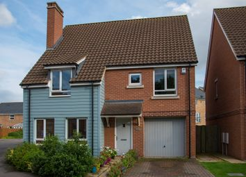 Thumbnail 4 bed detached house for sale in Whitley Road, Upper Cambourne, Cambridge