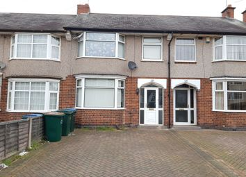 Thumbnail 3 bed terraced house for sale in Glencoe Road, Stoke, Coventry