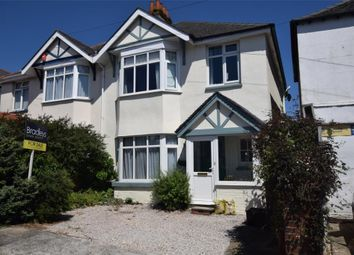 Thumbnail 3 bed semi-detached house for sale in Cedar Road, Preston, Paignton, Devon