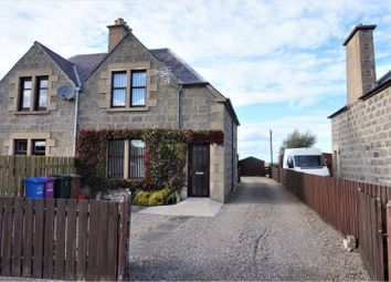 Thumbnail 2 bed semi-detached house for sale in Station Road, Fochabers