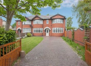 Thumbnail 4 bed semi-detached house for sale in Mill Lane, Houghton Green, Warrington