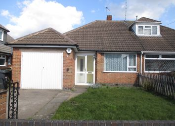 Thumbnail 2 bed semi-detached bungalow to rent in Lanesborough Road, Belgrave, Leicester