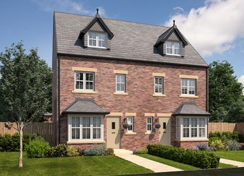 "Thumbnail 4 bed town house for sale in ""Hereford"" at Ascot Way, Carlisle"
