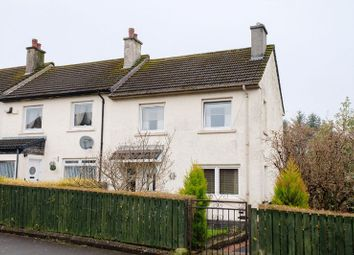 Thumbnail 2 bed end terrace house for sale in Lochaline Avenue, Paisley