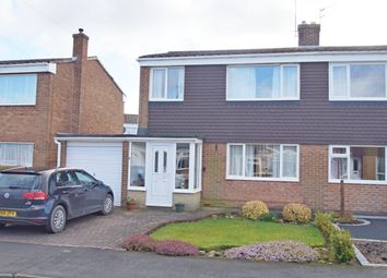 Thumbnail 3 bed semi-detached house for sale in Grassdale, Durham