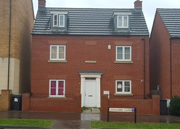 Thumbnail 4 bed town house to rent in Ashmead Road, Bedford