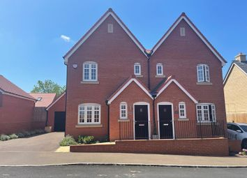 Thumbnail 3 bed semi-detached house to rent in Fylingdales Avenue, New Cardington