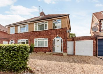 Thumbnail 3 bed semi-detached house for sale in Pondfield Crescent, St Albans, Hertfordshire