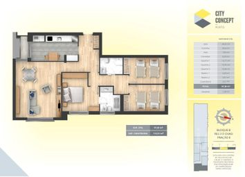 Thumbnail 3 bed apartment for sale in Ermesinde, Valongo, Porto
