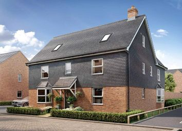 """Thumbnail 5 bedroom detached house for sale in """"Moorecroft"""" at Broughton Crossing, Broughton, Aylesbury"""
