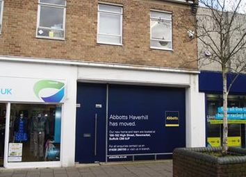 Thumbnail Retail premises to let in 45A High Street, Haverhill