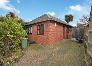 Thumbnail 2 bed detached bungalow for sale in Vicarage Road, Minster On Sea, Sheerness