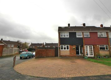 Thumbnail 3 bed end terrace house for sale in Pear Tree Walk, Cheshunt, Waltham Cross