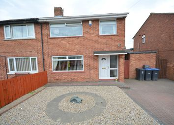 Thumbnail 3 bedroom semi-detached house for sale in Ramsey Crescent, Bishop Auckland
