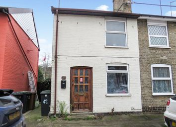 Thumbnail 1 bed semi-detached house for sale in Cardinalls Road, Stowmarket