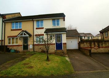 Thumbnail 3 bed semi-detached house for sale in Otter Close, Okehampton