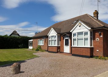 Thumbnail 3 bed bungalow for sale in Eastwood End, Wimblington
