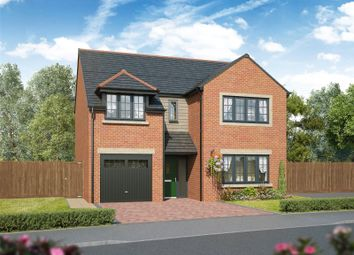 Thumbnail 4 bed detached house for sale in Shepherds Cote Drive, Hepscott, Morpeth, Northumberland