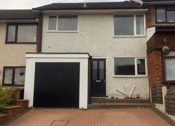 Thumbnail 3 bed terraced house to rent in Parkhill Road, Burntwood