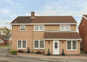 Thumbnail 4 bedroom detached house for sale in Springfield Drive, Hempshill Vale, Nottingham
