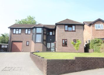 Thumbnail 4 bed detached house for sale in Bluebell Court, Ty Canol, Cwmbran
