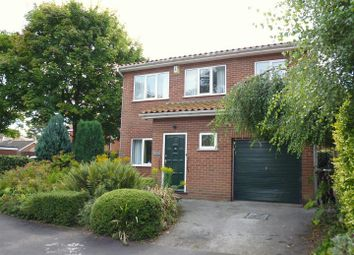 Thumbnail 3 bed detached house for sale in Springfield Close, Lincoln
