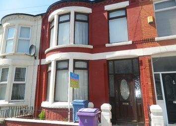 Thumbnail 3 bed terraced house to rent in Deansburn Road, Liverpool, Merseyside