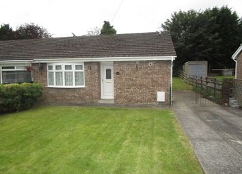 Thumbnail 2 bed semi-detached bungalow for sale in Tawe Park, Ystradgynlais, Swansea.