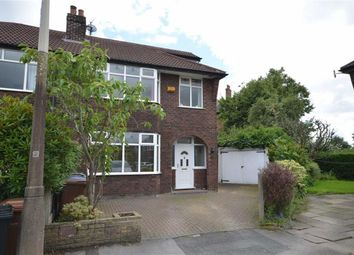 Thumbnail 4 bedroom semi-detached house for sale in Warwick Close, Heaton Moor, Stockport, Greater Manchester
