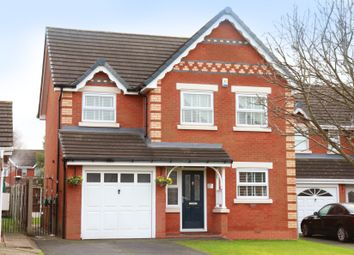 Thumbnail 4 bed detached house for sale in Granborne Chase, Kirkby, Liverpool