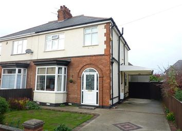 Thumbnail 3 bed semi-detached house for sale in Dixon Avenue, Grimsby