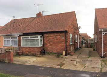 Thumbnail 1 bed semi-detached bungalow for sale in Bempton Oval, Bridlington