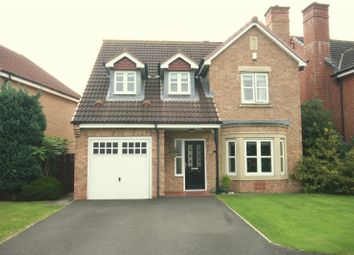 Thumbnail 4 bed detached house for sale in Bronte Way, Billingham, Tees Valley