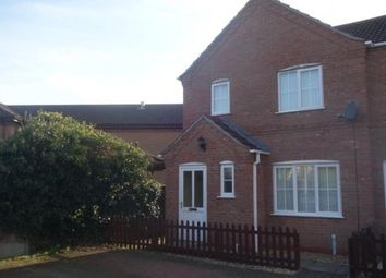 Thumbnail 3 bed terraced house to rent in Veall Court, Coningsby, Lincoln, Lincolnshire