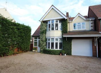 Thumbnail 3 bed detached house for sale in Sapcote Road, Burbage, Hinckley