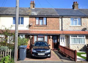 Thumbnail 2 bedroom terraced house for sale in Leigh Road, Broadwater, Worthing, West Sussex