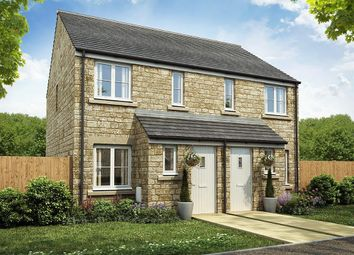 "Thumbnail 2 bed semi-detached house for sale in ""The Alnwick "" at Townsend Road, Witney"
