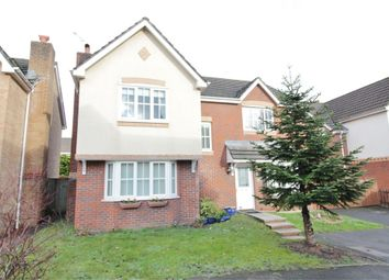 Thumbnail 4 bed detached house for sale in Lupin Grove, Rogerstone, Newport