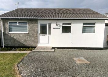 Thumbnail 3 bed detached bungalow for sale in 5, Heol Rowen, Fairbourne, Gwynedd