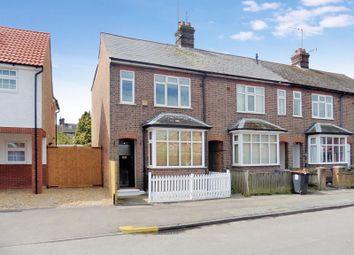 Thumbnail 3 bedroom end terrace house for sale in Stuart Street, Dunstable