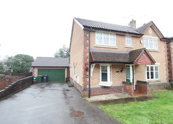 Thumbnail 4 bedroom detached house for sale in Rosecroft Drive, Langstone, Newport