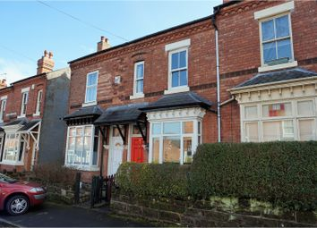 Thumbnail 3 bed terraced house for sale in Leighton Road, Birmingham